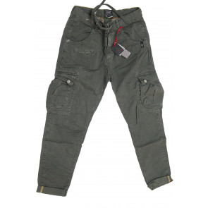 LOFT 1 pantalone uomo Mod Pencil tg 50 verde