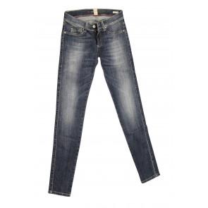 FIFTY FOUR jeans donna Skinny art Susan 00 J360 tg 24/38 Blu denim