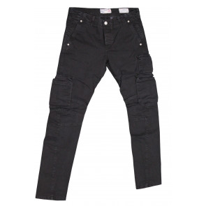 FIFTY FOUR pantalone uomo elasticizzato art Manik 00 C021 tg 33/47 Nero