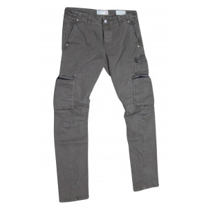 FIFTY FOUR pantalone uomo elasticizzato art Manik 00 C021 tg 32/46 Fango