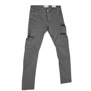 FIFTY FOUR pantalone uomo elasticizzato art Manik 00 C021 tg 34/48 Verde