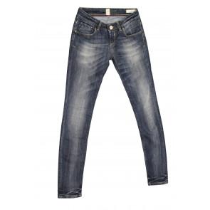FIFTY FOUR jeans donna  slim fit art Erika 00 J989 tg 27/41 Blu denim