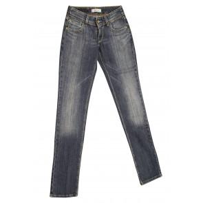 LEVIS jeans donna elasticizzato art 571.00.10 tg 27/41 Blu denim