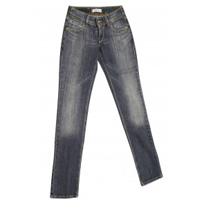LEVIS jeans donna elasticizzato art 571.00.10 tg 28/42 Blu denim
