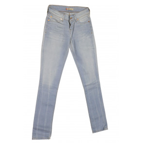 LEVIS jeans donna elasticizzato art 473.00.04 tg 29/43 Blu denim