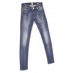 FIFTY FOUR jeans donna Skinny art Patty 00 J341 tg 25/39 Blu denim